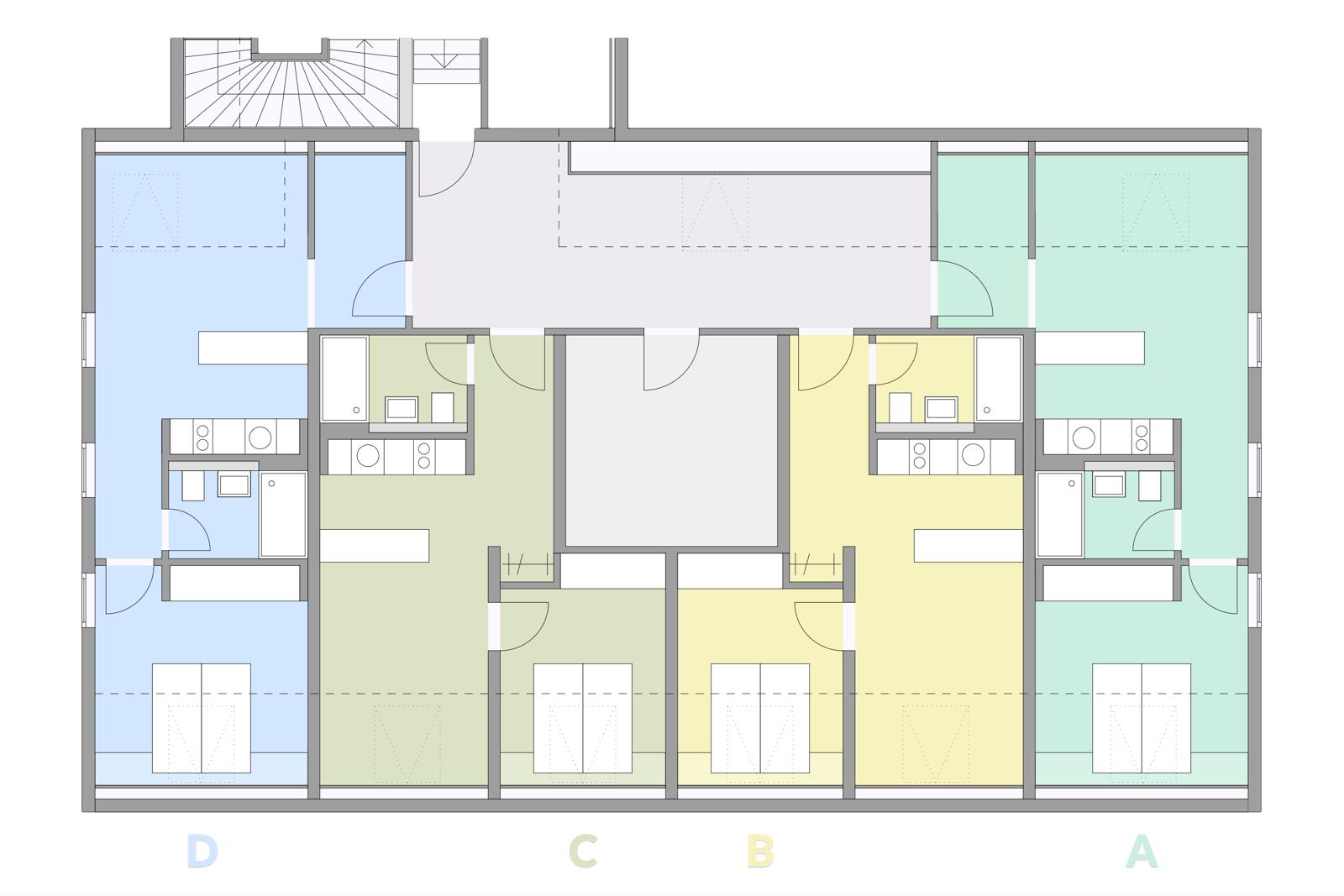 Appartementübersicht